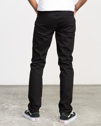 3 Hexed Denim Jeans Black M301NRHE RVCA