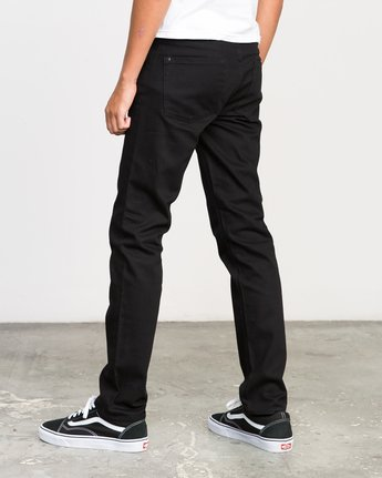 2 Hexed Denim Jeans Black M301NRHE RVCA