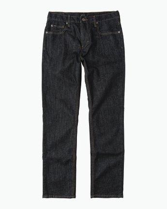 6 Daggers Slim-Straight Jeans Blue M301QRDA RVCA