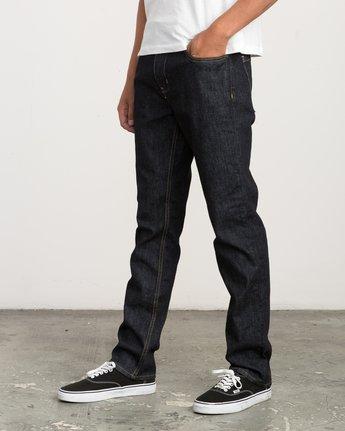 1 Daggers Slim-Straight Jeans Blue M301QRDA RVCA