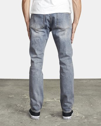 4 DAGGERS SLIM FIT DENIM Blue M3023RDA RVCA