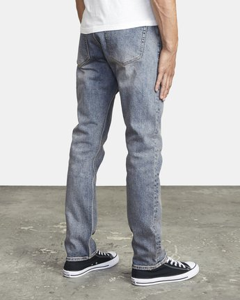 5 DAGGERS SLIM FIT DENIM Blue M3023RDA RVCA