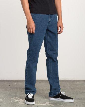 5 Daggers Slim-Straight Jeans Blue M302QRDA RVCA
