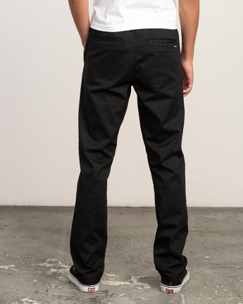 3 Week-End Elastic Pant Black M302TRWE RVCA