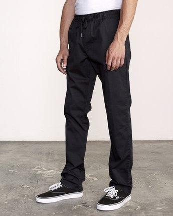 1 Week-End Elastic Pant Black M302TRWE RVCA