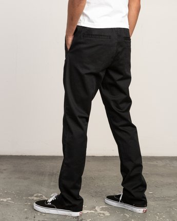 2 Week-End Elastic Pant Black M302TRWE RVCA