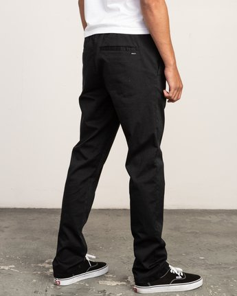 4 Week-End Elastic Pant Black M302TRWE RVCA