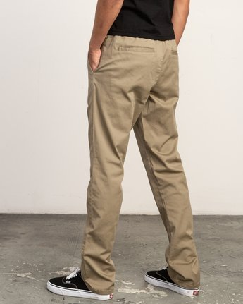 4 Week-End Elastic Pant White M302TRWE RVCA
