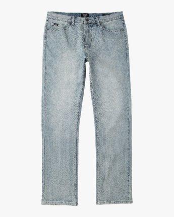 6 Daggers Slim-Straight Jeans Grey M303QRDA RVCA