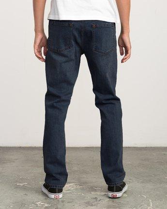 2 Daggers Slim-Straight Jeans Blue M303QRDA RVCA