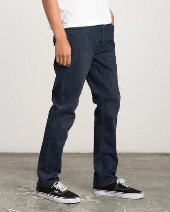 4 Daggers Slim-Straight Jeans Blue M303QRDA RVCA