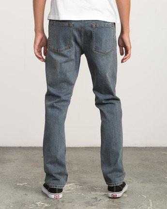3 Daggers Slim-Straight Jeans Blue M303QRDA RVCA