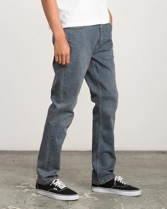 5 Daggers Slim-Straight Jeans Blue M303QRDA RVCA