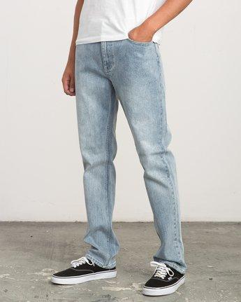 1 Daggers Slim-Straight Jeans Beige M303QRDA RVCA