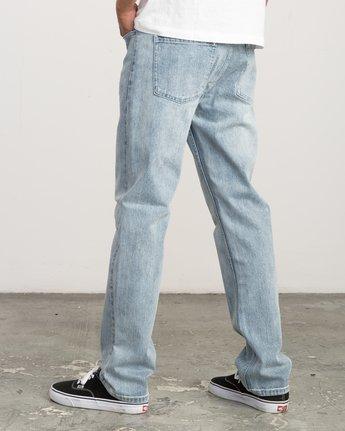 2 Daggers Slim-Straight Jeans Beige M303QRDA RVCA