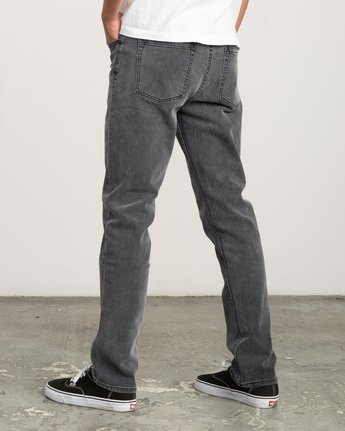 2 Daggers Slim-Straight Jeans Grey M303QRDA RVCA