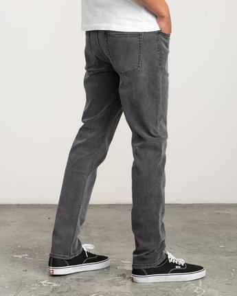 4 Daggers Slim-Straight Jeans Grey M303QRDA RVCA