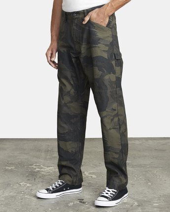 3 CHAINMAIL RELAXED FIT PANT Black M3043RCH RVCA