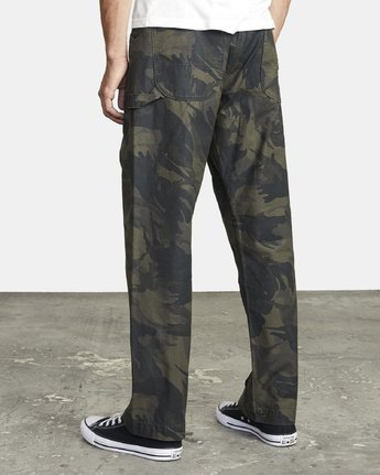 4 CHAINMAIL RELAXED FIT PANT Black M3043RCH RVCA