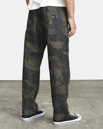 6 CHAINMAIL RELAXED FIT PANT Black M3043RCH RVCA