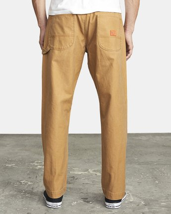 3 CHAINMAIL RELAXED FIT PANT Brown M3043RCH RVCA