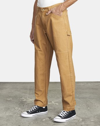4 CHAINMAIL RELAXED FIT PANT Brown M3043RCH RVCA