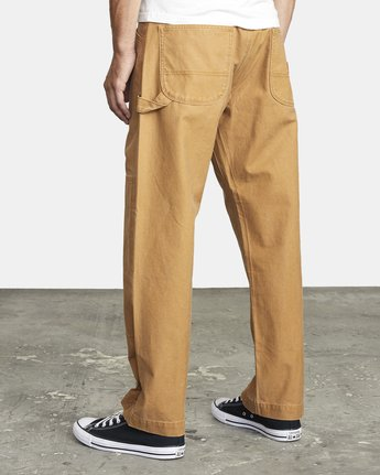 5 CHAINMAIL RELAXED FIT PANT Brown M3043RCH RVCA
