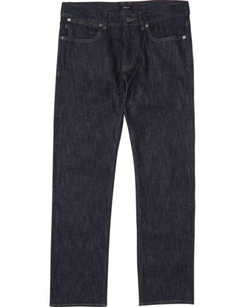 0 week-end STRAIGHT FIT DENIM Blue M3043RWK RVCA