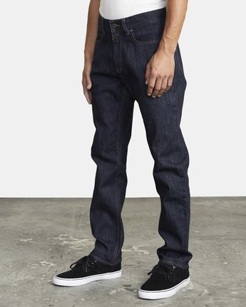2 WEEKEND STRAIGHT FIT DENIM Blue M3043RWK RVCA