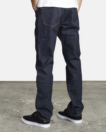 3 WEEKEND STRAIGHT FIT DENIM Blue M3043RWK RVCA