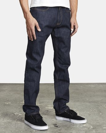 6 WEEKEND STRAIGHT FIT DENIM Blue M3043RWK RVCA