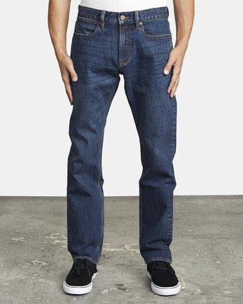 2 week-end STRAIGHT FIT DENIM Blue M3043RWK RVCA