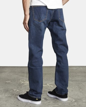 3 week-end STRAIGHT FIT DENIM Blue M3043RWK RVCA