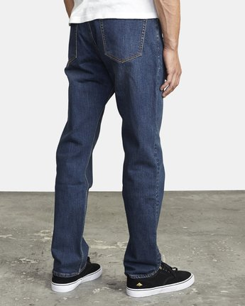 5 week-end STRAIGHT FIT DENIM Blue M3043RWK RVCA