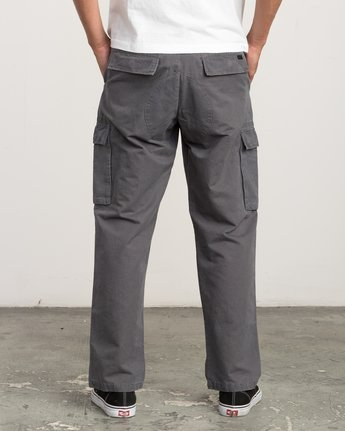 3 Expedition Cargo Pant Grey M304QREX RVCA