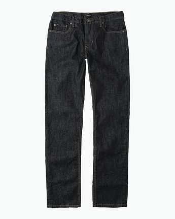 6 Hexed Slim Fit Denim Jeans Blue M304QRHD RVCA