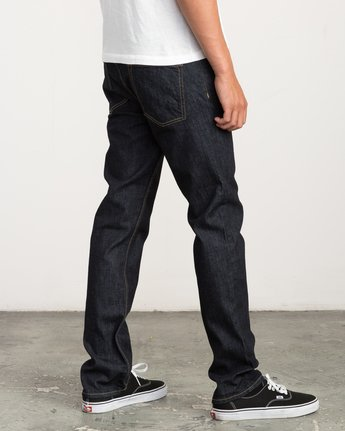 4 Hexed Slim Fit Denim  M304QRHD RVCA