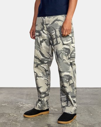 5 CONSCRIPTION RELAXED FIT CARGO PANT Brown M3053RCC RVCA
