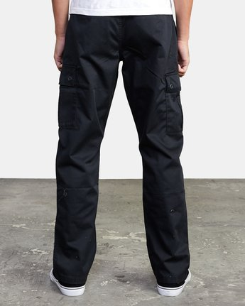 2 CONSCRIPTION RELAXED FIT CARGO PANT Orange M3053RCC RVCA