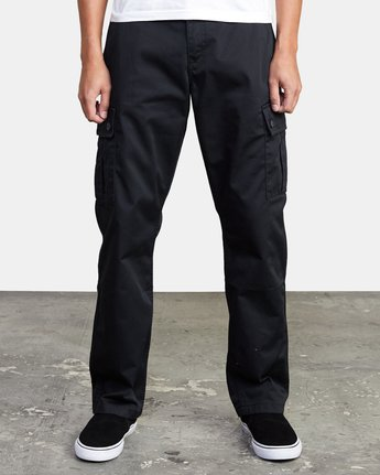 1 CONSCRIPTION RELAXED FIT CARGO PANT Orange M3053RCC RVCA