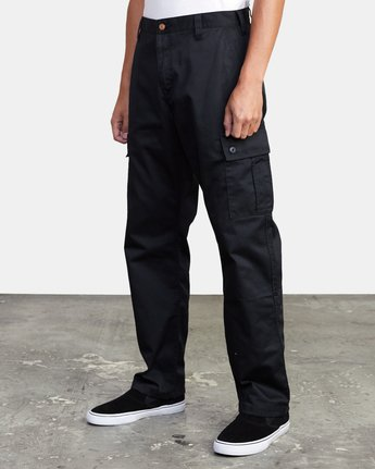 3 CONSCRIPTION RELAXED FIT CARGO PANT Orange M3053RCC RVCA