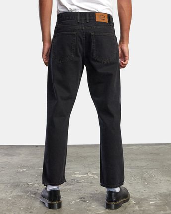 9 NEW DAWN MODERN STRAIGHT FIT DENIM Black M3053RND RVCA