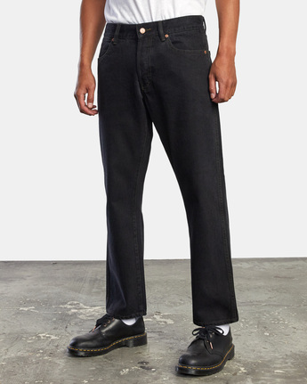 11 NEW DAWN MODERN STRAIGHT FIT DENIM Black M3053RND RVCA
