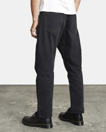 5 NEW DAWN MODERN STRAIGHT FIT DENIM Black M3053RND RVCA