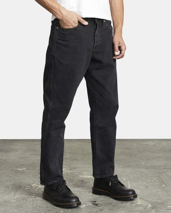 7 NEW DAWN MODERN STRAIGHT FIT DENIM Black M3053RND RVCA