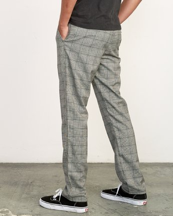 2 Daggers Slim-Straight Jax Pants Grey M305VRDC RVCA