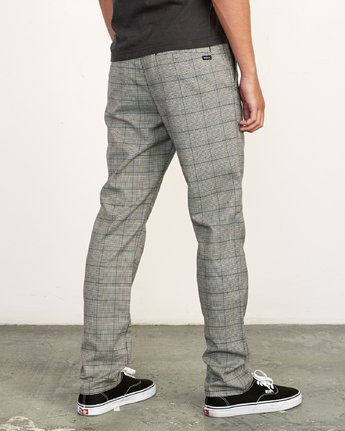 4 Daggers Slim-Straight Jax Pants Grey M305VRDC RVCA