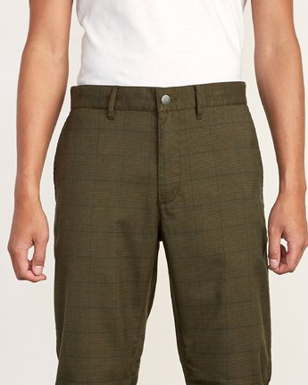 6 Daggers Slim-Straight Jax Pants Green M305VRDC RVCA