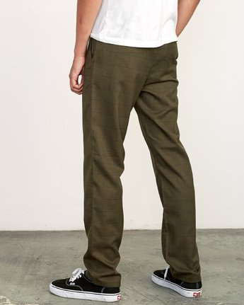 3 Daggers Slim-Straight Jax Pants Green M305VRDC RVCA