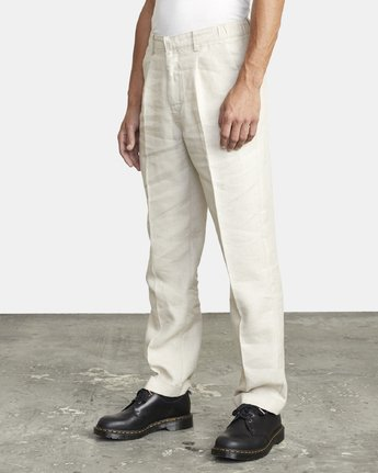3 ALL TIME LOMAX MODERN STRAIGHT FIT PANT Silver M3063RLO RVCA